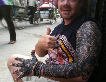 Henna Tattoos India